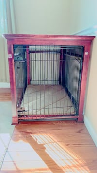 red and black metal pet cage Herndon, 20171