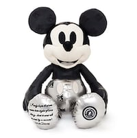 NWT Disney Store Mickey Mouse Memories January Plush Limited Release