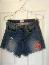 Size Medium New cut off jean shorts  Lancaster