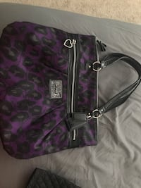 Practically new coach purse