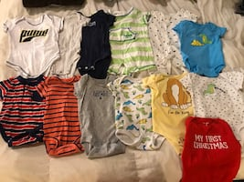 Baby boys newborn to 3months clothes