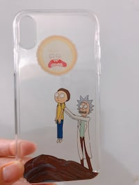 Rick and Morty iPhone X case Kingston, K7L 3C6