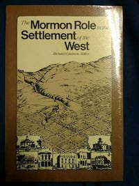 The Mormon Role in the Settlement of the West 1946 mi