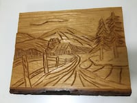Live edge wood wall decor