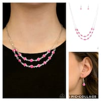 Summer girl pink necklace  Gaithersburg