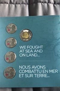 Collectible coins  Mississauga, L5L 3E4