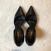 Leather Le Chateau D'Orsay Heels