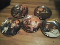 Norman Rockwell collector plates