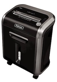Fellowes Powershred 79Ci 100% Jam Proof Medium, Duty Cross, Cut Shredder, 16 Sheet Capacity, Black/Dark Silver (pick up only from Great Falls VA) with box (excellent condition) Great Falls, 22066