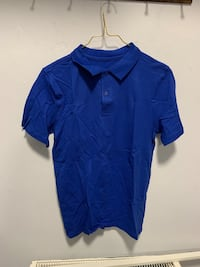 Electric blue boys polo shirt size 13-14 years new  Birmingham, B42 1SH