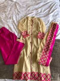 toddler's pink and white footie pajama Markham, L6E 1H5