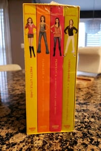 Pretty Little Liars book set - 4 in set.  New in plastic.. Vaughan, L4H 2W3