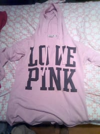 pink Victoria's Secret Pink pullover hoodie Mississauga, L5N 5E9