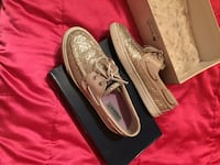 Sperry Top-Siders (Bahama Silver Glitter/ 8.5)