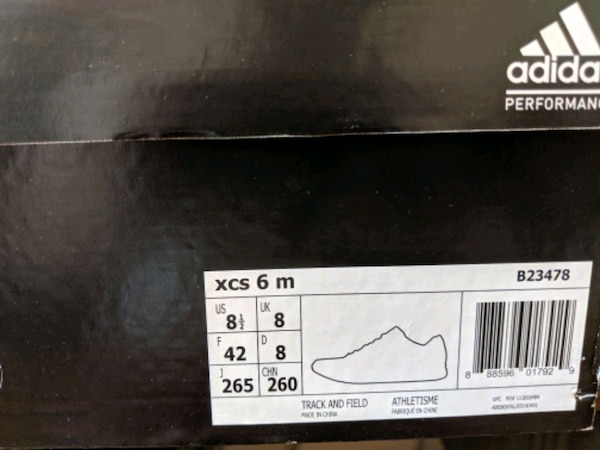 New Adidas Track and field shoes - size 8.5 dcdfde1c-ebe7-427e-9157-36dfe147fdd4