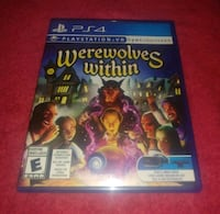 PS4 PSVR Game Werewolves Within Virtual Reality  Jamestown, 14701