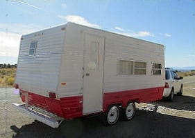 1978 Vintage Camper Classic Travel Trailer is in very good condition.