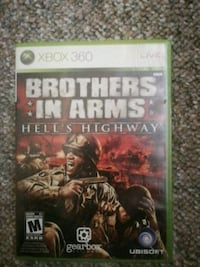Brothers in arms hells highway xbox360 game Winnipeg, R2J 1A6