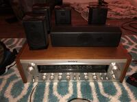 Sony home stereo with Samsung speakers