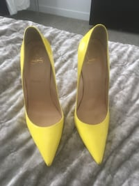 Christian Louboutin rate Bright yellow color so Kate's Kelowna, V1Y 0E6