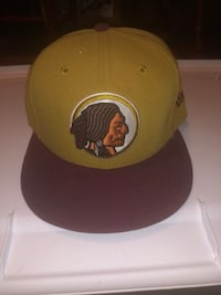 Redskins Fitted Cap - Size 7 Washington, 20020