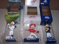2017 TORONTO BLUE JAYS BOBBLEHEAD SET - NIB  Vaughan