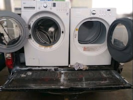 Washer and dryer works good Free delivery