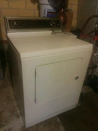 white front-load clothes washer Haltom City, 76117