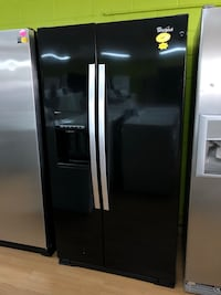 Whirlpool side by side refrigerator Woodbridge, 22191