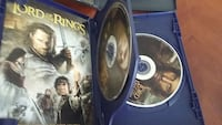 lord of the rings dvd dseries