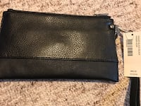 New black leather clutch Hamilton, L9C 0C7