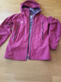 Rosa zip-up hettejakke