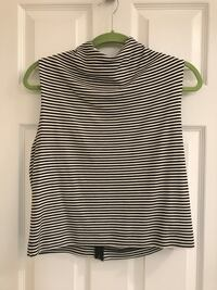black and white stripe sleeveless top Arlington, 22205