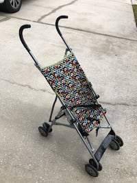 black and multicolored floral lightweight stroller Lake Mary, 32746