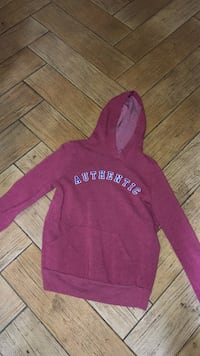 pink and white Hollister pullover hoodie Fresno, 93711