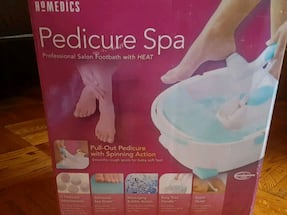 Homedics Pedicure Spa