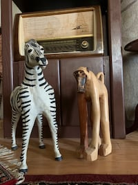 Zebra and Ape Antiques from Kenya Falls Church, 22041