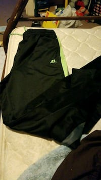 black and green Adidas track pants Chehalis, 98532