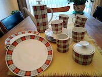 Vintage 1970s Full Coffee Set for 6  Oakville, L6M 5A9