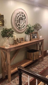 Custom entry way tables