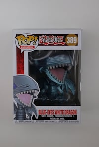 Blue Eyes White Dragon Funko Pop Vancouver, V6A