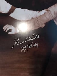 Gordie Howe and Ted Kennedy signed ( 16x20) Oakville, L6M 3P3