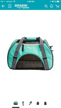 Blue and black bergan duffel bag screenshot