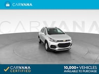 2017 Chevy Chevrolet Trax hatchback LT Sport Utility 4D Silver Brentwood