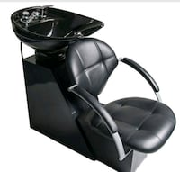 black leather padded rolling armchair Pensacola, 32506