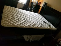 black and white bed mattress 53 km