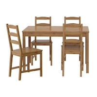 IKEA dining table set of 4