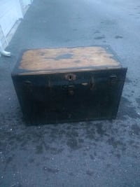 Antique wooden chest hate to part with it