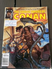 Conan comic book 1991