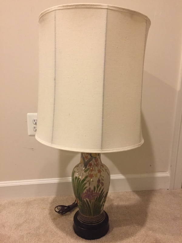 Lamp, table lamp from Japan